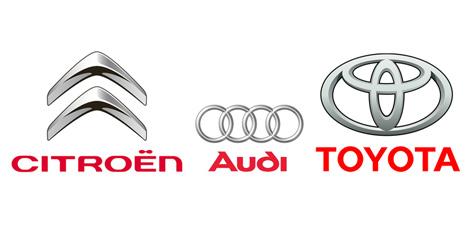 http://www.designtagebuch.de/das-neue-markenzeichen-von-audi/ http://www.designtagebuch.de/markenrelaunch-von-citroen/ http://blog.psprint.com/printing/the-lowdown-on-logo-redesign/